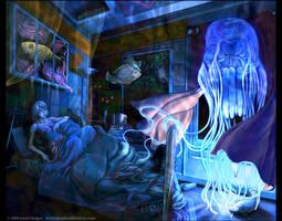 Box Jellyfish by Quasimanga