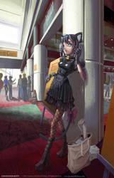 Convention Kitty by Quasimanga