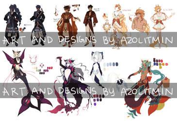 OC Compilation by azolitmin