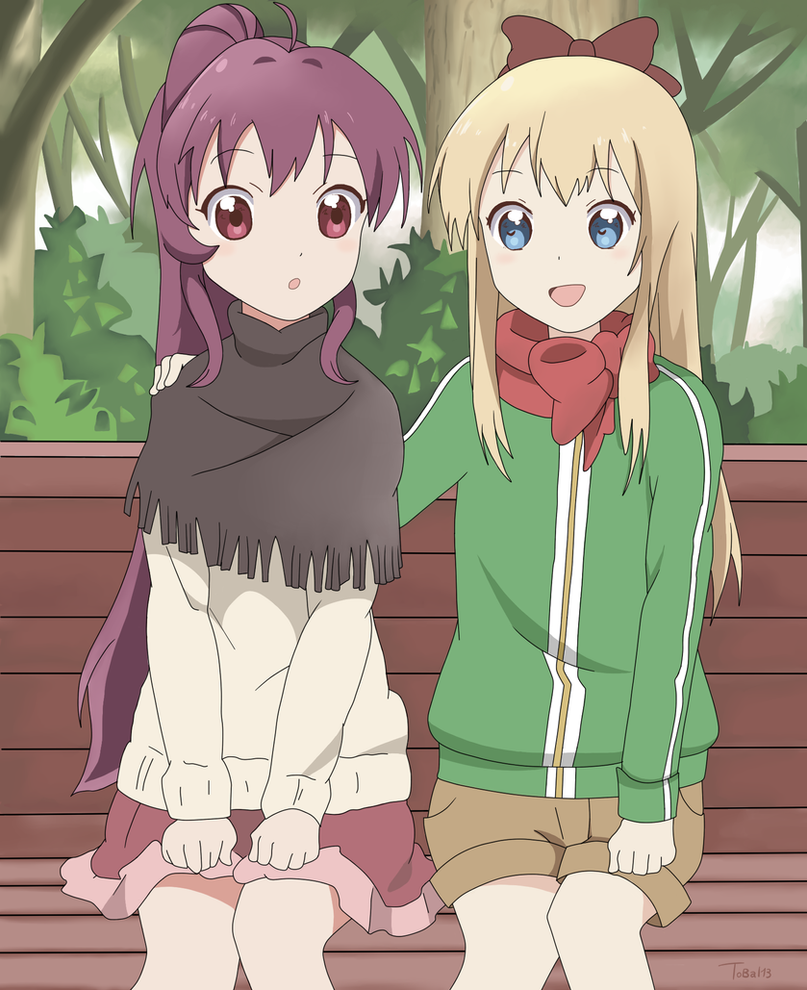 Kyokorin and Ayanorin by Tobal13