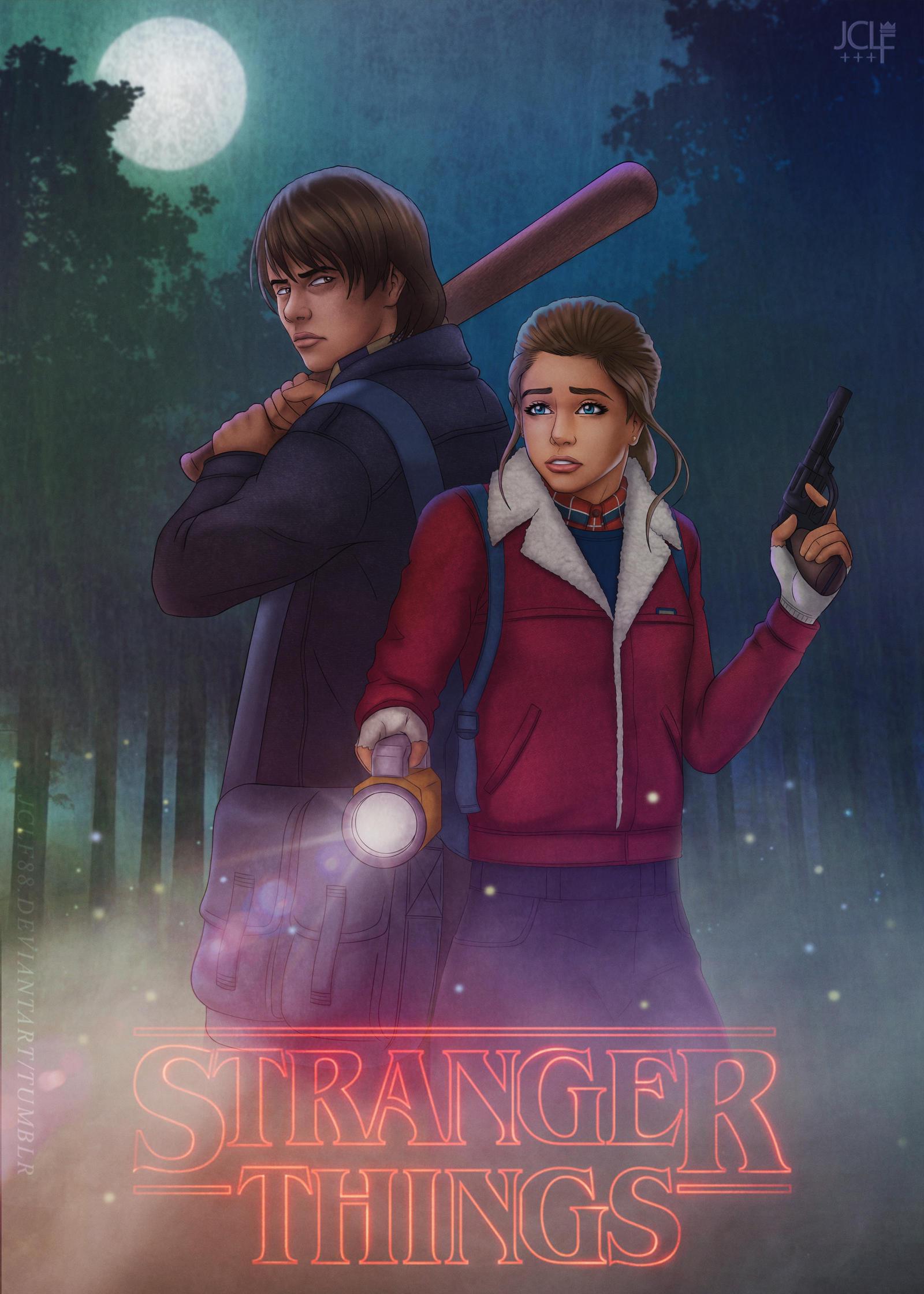 Stranger Things - Nancy x Jonathan by JCLF88 on DeviantArt