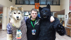 Me with nice Fursuiter