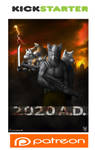 2020 A.D. Comic by ShaneTheWolf