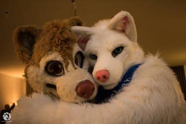 cuddle time by ShaneTheWolf