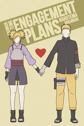 NaruTema Doujin : Engagement Plans Cover by indy-riquez