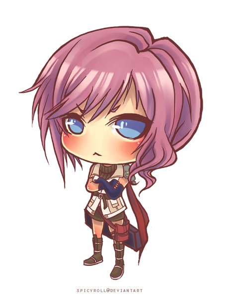 Chibi Lightning by spicyroll