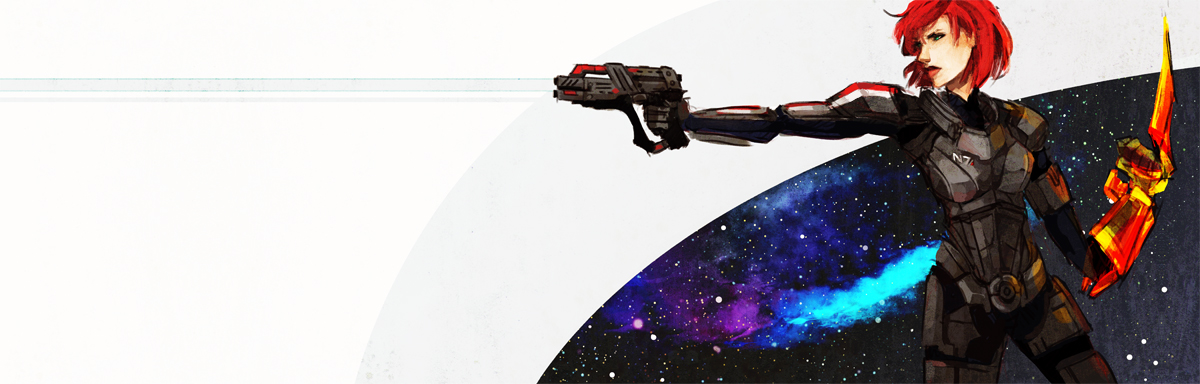 Commander Shepard by spicyroll