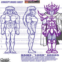 MODEL SHEET - LORD ARGOS 2019 - SKETCH - PUBLIC