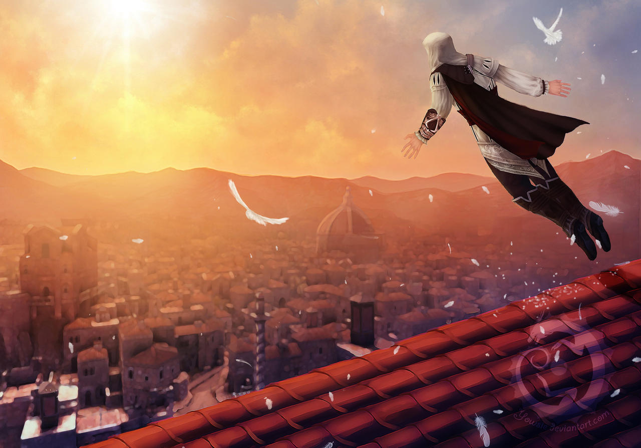 Assassin S Creed Leap Of Faith By Yowsie On Deviantart