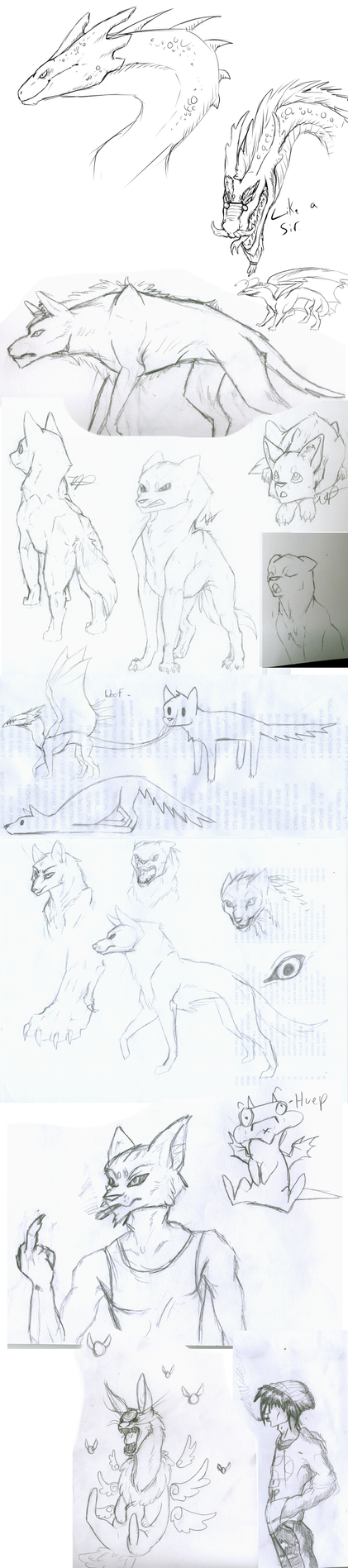 Sketchdump #3 by jebANON