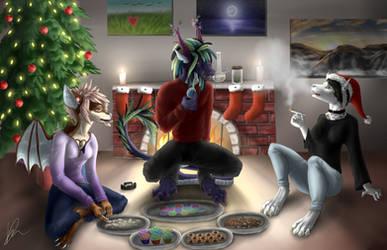 Christmas munchies by FullOfSpaghetti