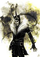 Commission- Loki by Skizoh