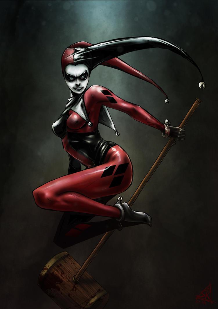 Harley Quinn by Skizoh