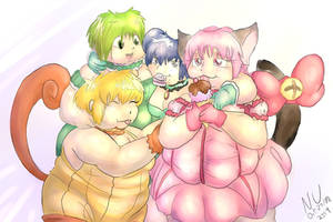 Fatty Mew Mew by TheSwedishElf