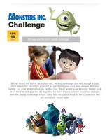 Monsters Inc. Challenge by PUNKBOX
