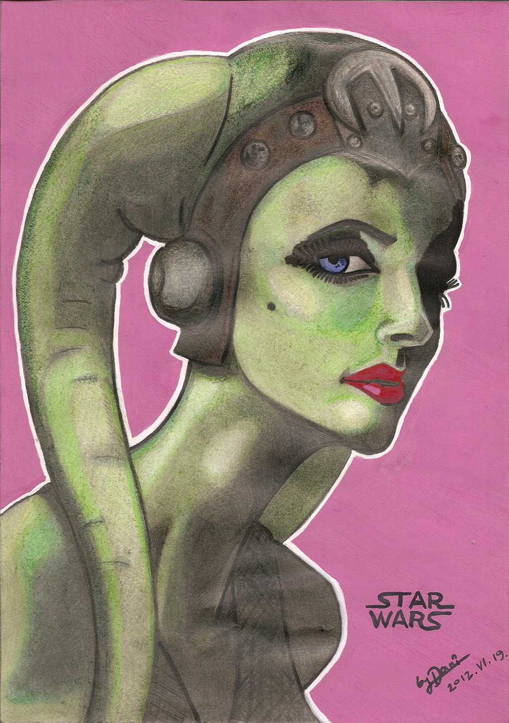 Oola the Slave by brianjones90 on deviantART Jabba The Hutt And Oola
