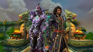 Huntershadowshot and Wrathion 2