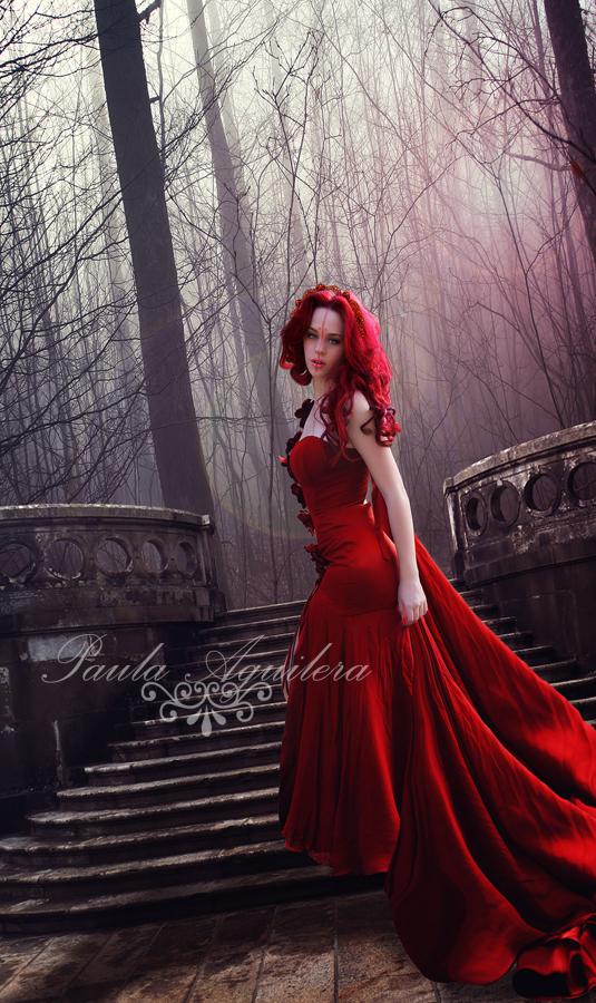 ninfa roja by Lwsypher
