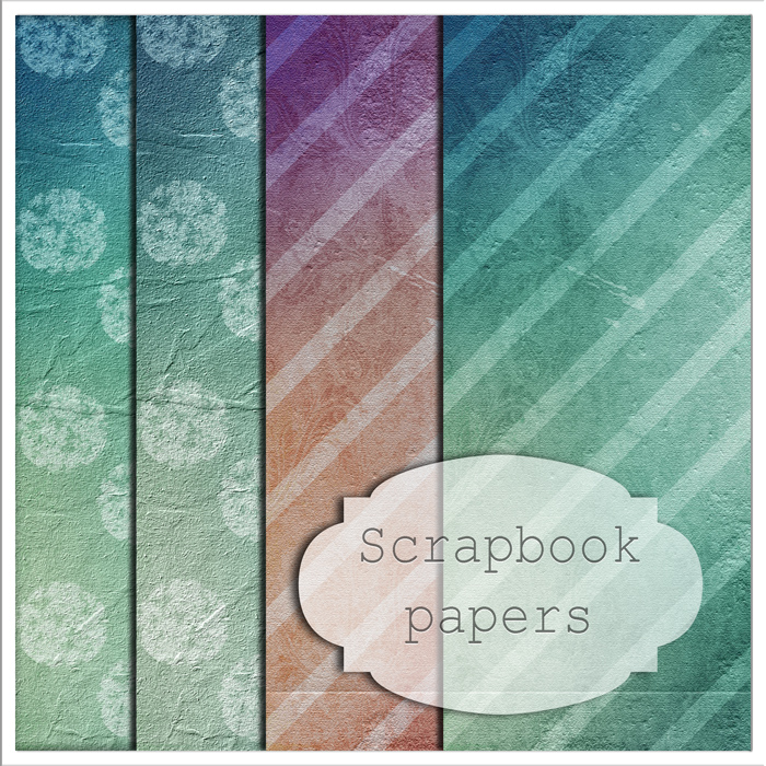 scrapbook papers by Lwsypher