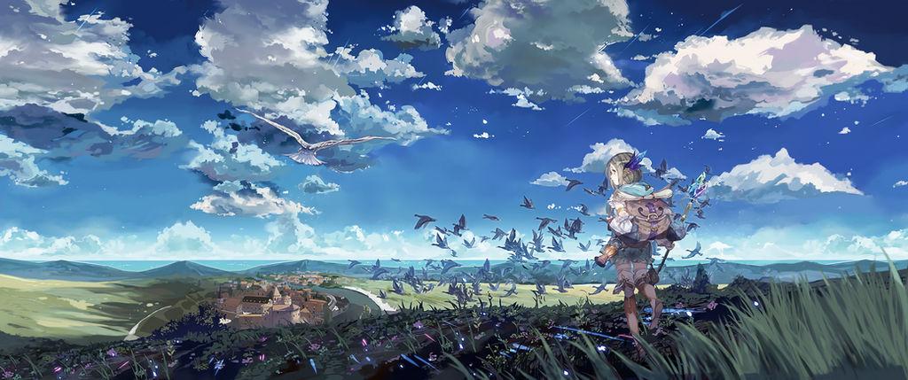 Atelier Firis - Wallpaper 3440x1440 by