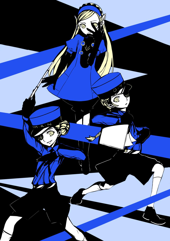 Persona Velvet Room Attendants Persona