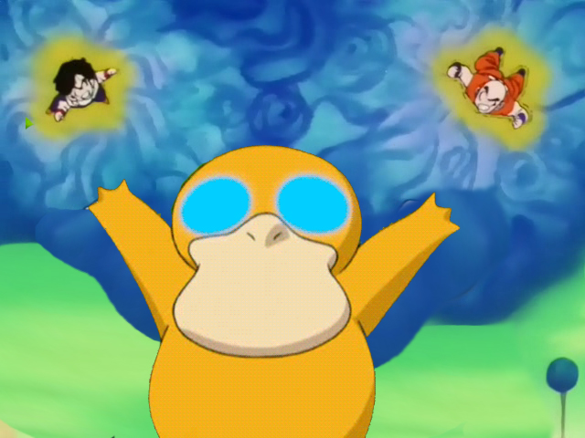 Psyduck used confusion. by Edd-Gm on DeviantArt