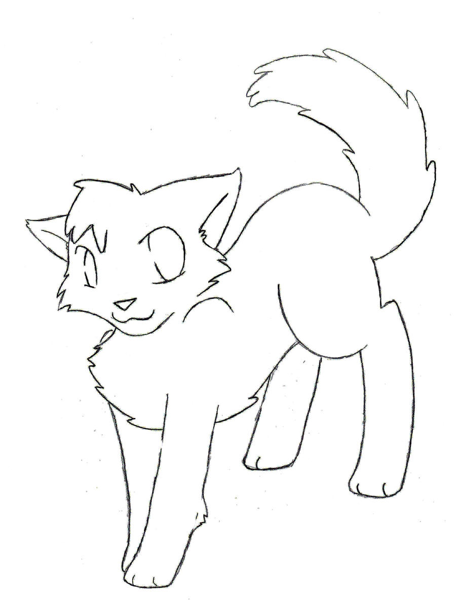 cute warrior cats coloring pages - photo#6