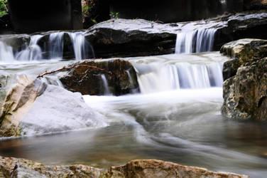 Water fall by shelledy