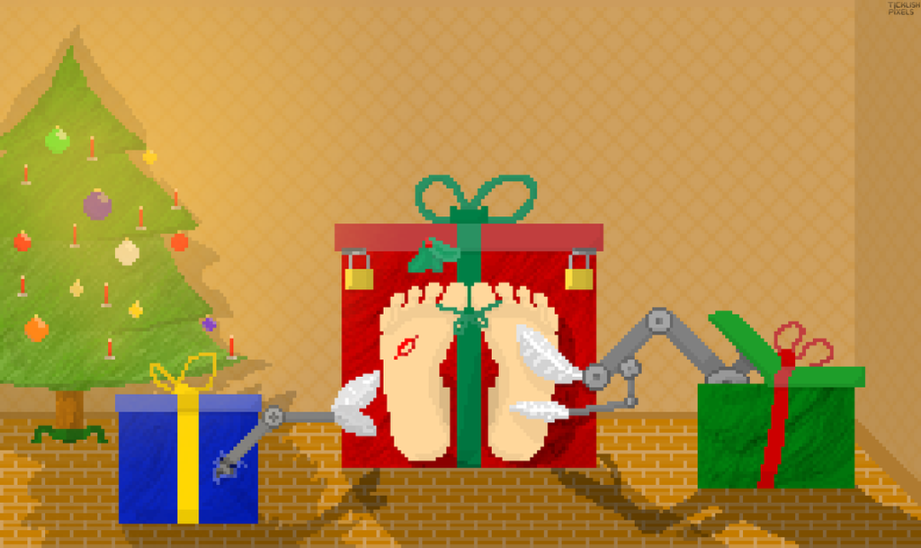 All I want for Christmas is you(r feet) by TicklishPixels
