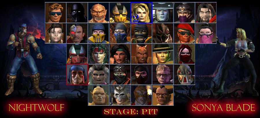 mortal kombat trilogy game