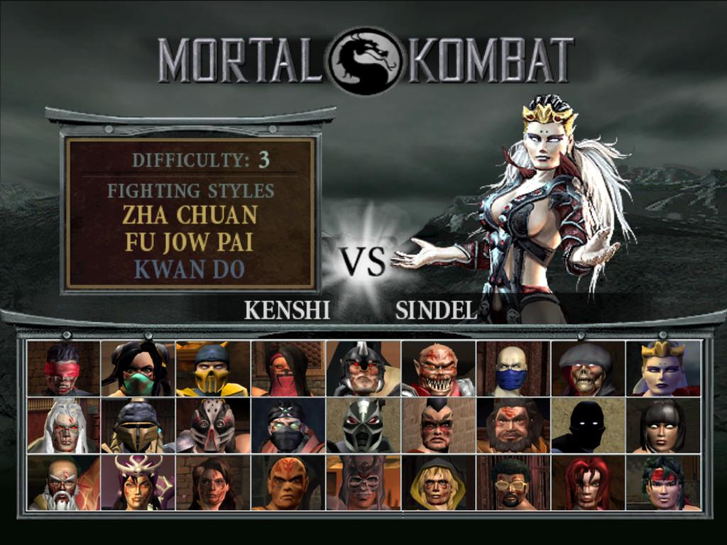 Mortal Kombat 9 Character Select Screen Music – Fondos de Pantalla
