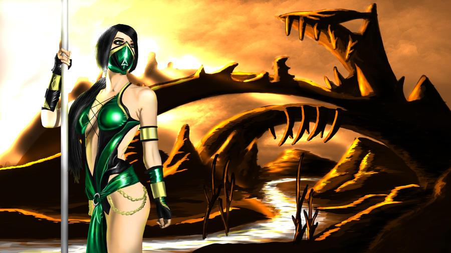 Kristen Hughey #Jade cosplay by Tomtaj1