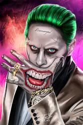 Joker #SuicideSquad by Tomtaj1
