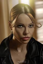 Chloe Decker #Lucifer by Tomtaj1