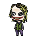 The Joker Shimeji WIP by Hellwheat