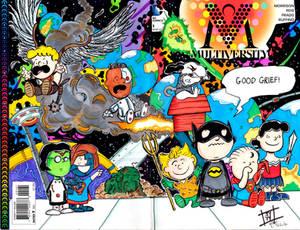 Multiversity DC Peanuts Sketch Cover by John Yuan