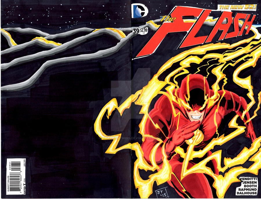 Flash Sketch Cover by TheYuanTwins