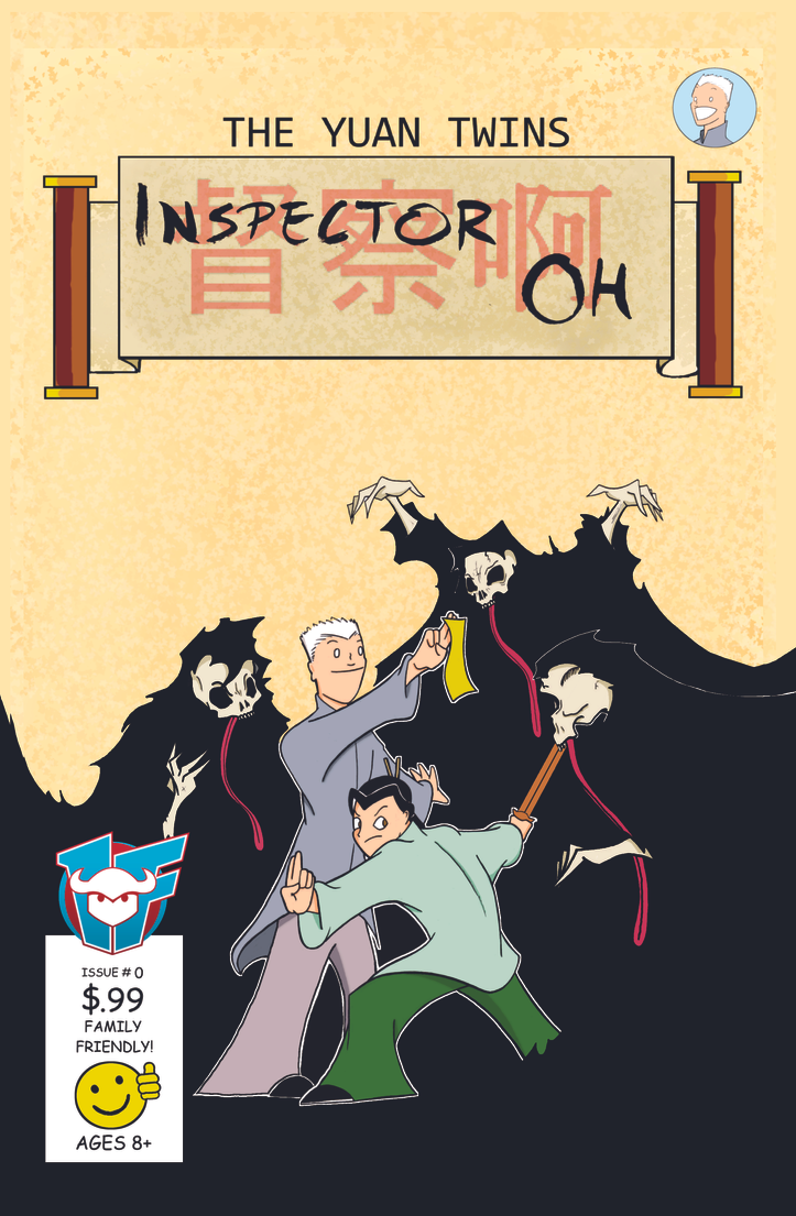 A Inspector Oh Issue 0 Front Cover by TheYuanTwins