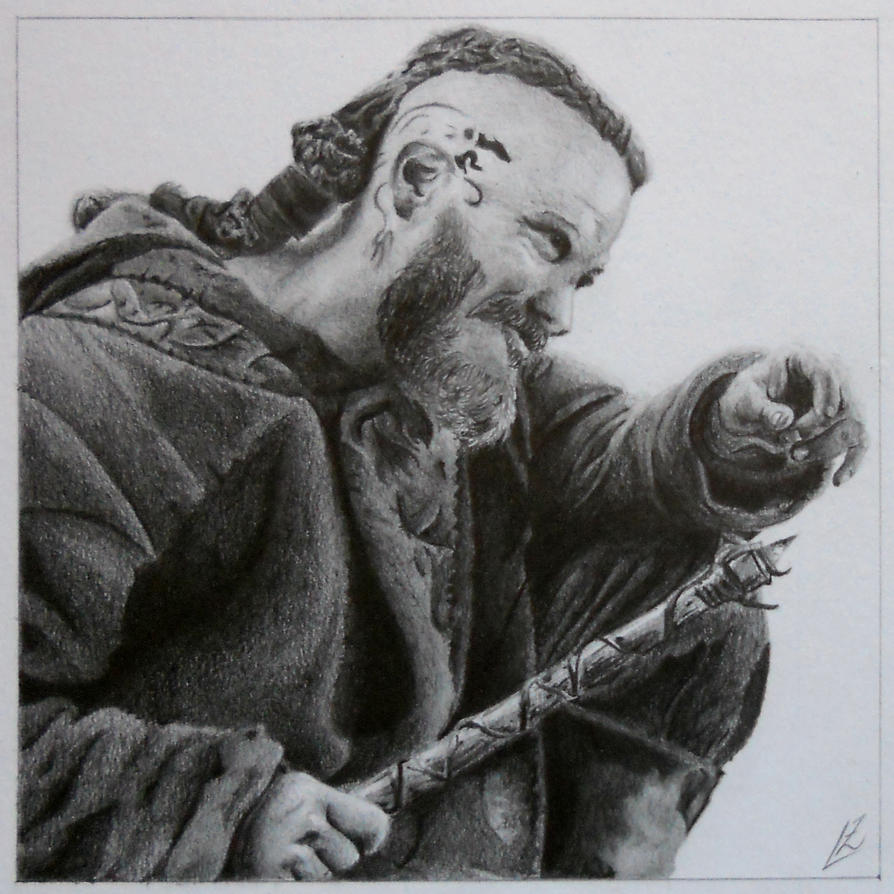 realistas - DIBUJOS REALISTAS Ragnarr_lothbrok_by_theguitarist112-d7ts2mc
