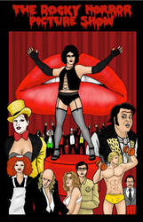 Rocky Horror Pinup by phymns