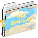 The Simpsons folder icon by vrinek502