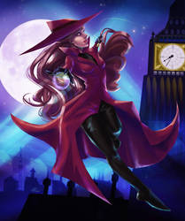 Carmen Sandiego - Night Thief by jeriatwee