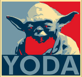 Yoda for president by mikmc