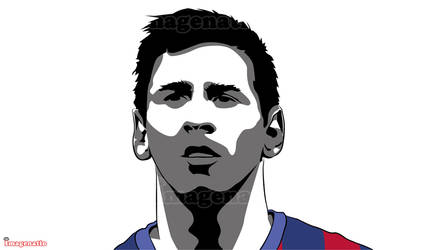 Messi by mikmc