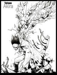 Tetsuo of AKIRA by TheIronClown