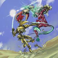 Cadenza vs Kehrolyn by TheIronClown