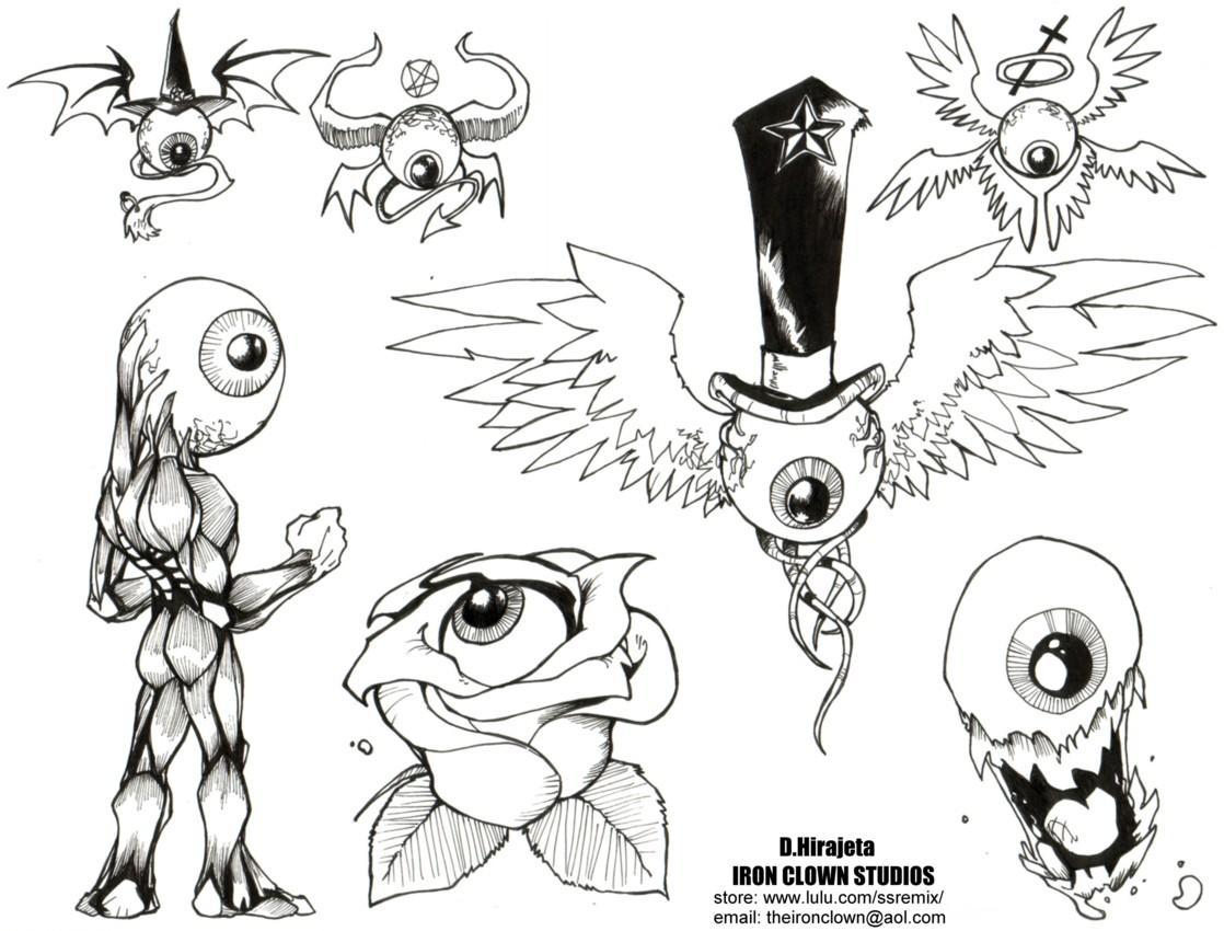 Flash Art- Eyes 01 by TheIronClown on DeviantArt