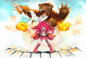 Annie League of Legends by Monsterhood13th