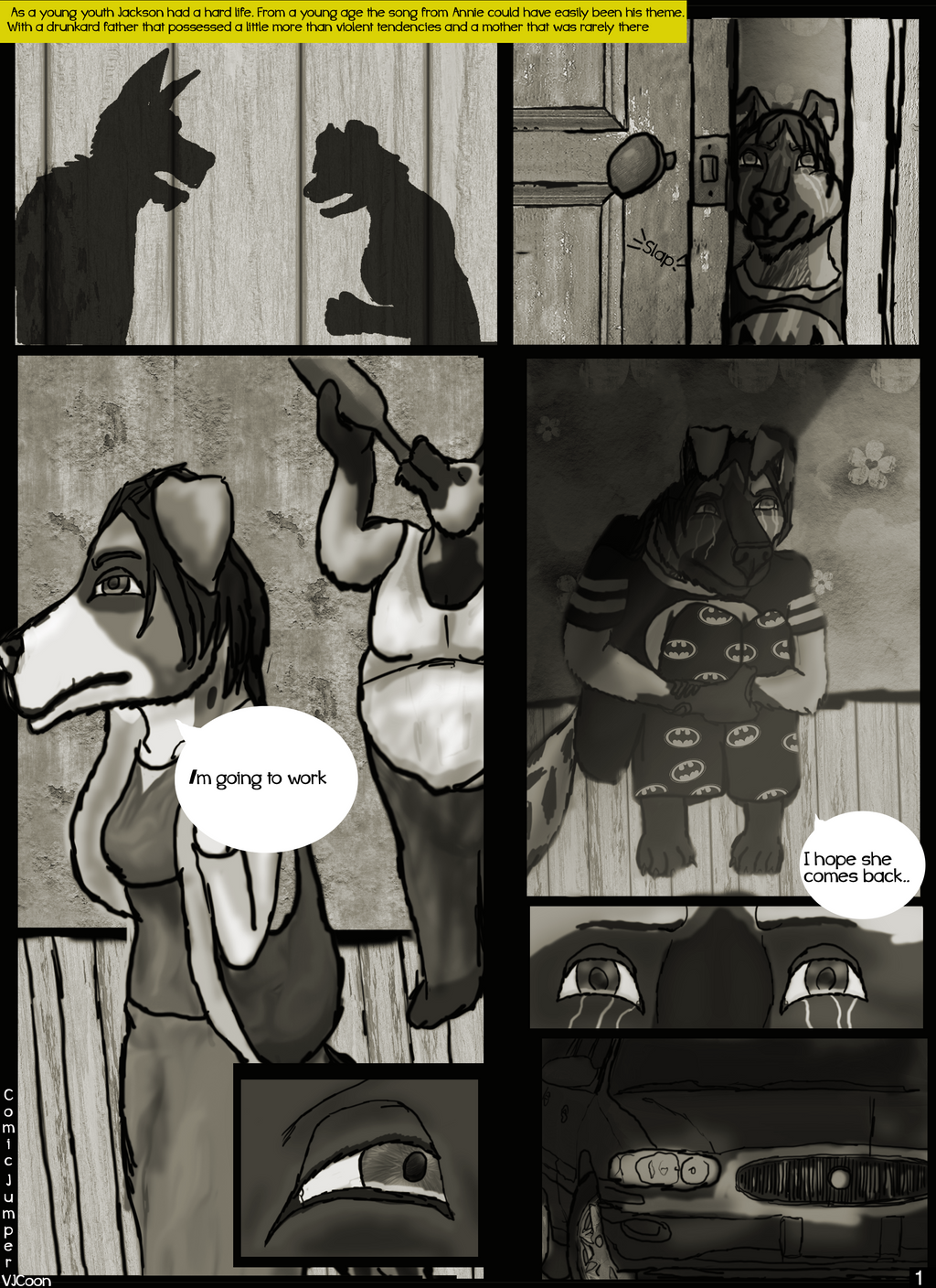 Comic Jumper: the beginning page 1