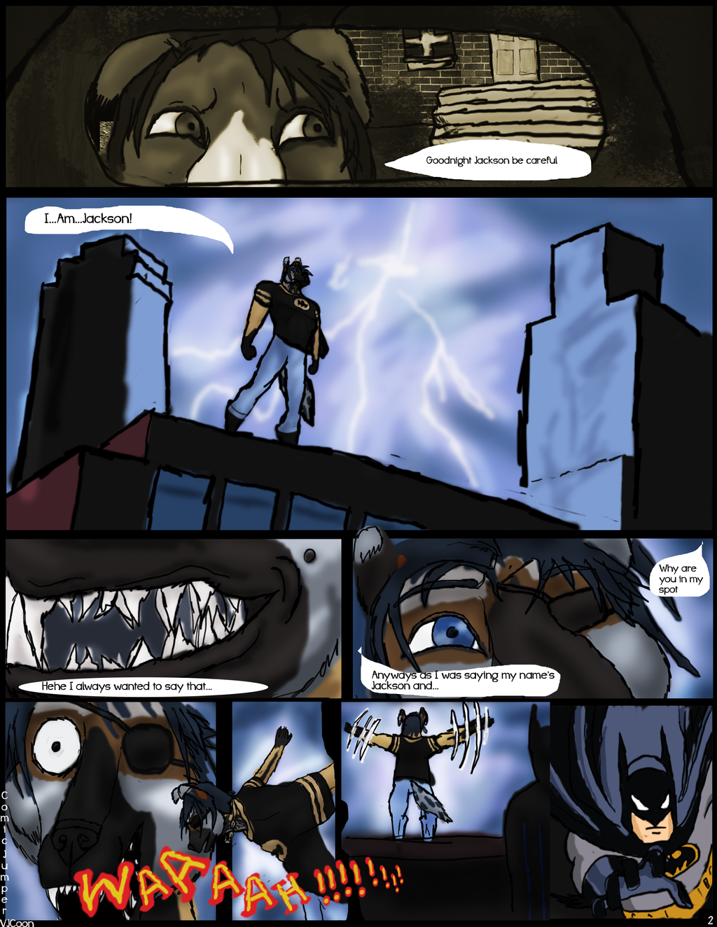 Comic Jumper: the beginning page 2